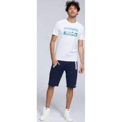 T-shirt męski TSM288 - biały. Białe t-shirty męskie 4f, z bawełny. Za 59.99 zł.