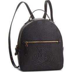 Plecak LAUREN RALPH LAUREN - Huntley 431707718001 Black. Czarne plecaki damskie Lauren Ralph Lauren, ze skóry ekologicznej. Za 1,219.90 zł.