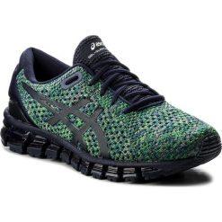 Buty ASICS - Gel-Quantum 360 Knit 2 T840N Peacoat/Green/White 5884. Niebieskie buty sportowe męskie Asics, z materiału. W wyprzedaży za 529.00 zł.