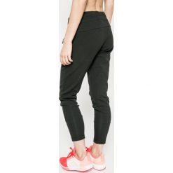 Adidas Performance - Spodnie. Szare spodnie sportowe damskie adidas Performance, z bawełny. W wyprzedaży za 279.90 zł.