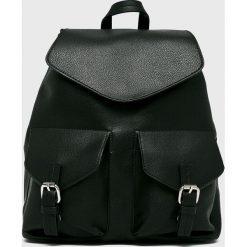 Pieces - Plecak Tyler. Czarne plecaki damskie Pieces, ze skóry ekologicznej. W wyprzedaży za 139.90 zł.