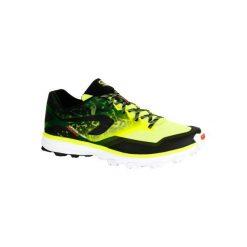 Buty do biegania Kiprace Trail 4 męskie. Żółte buty sportowe męskie KALENJI, z poliesteru. W wyprzedaży za 219.99 zł.