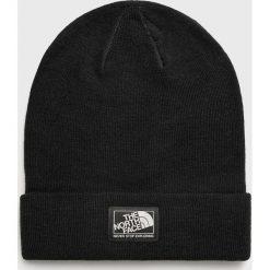 The North Face - Czapka. Czarne czapki i kapelusze damskie The North Face, z dzianiny. W wyprzedaży za 79.90 zł.
