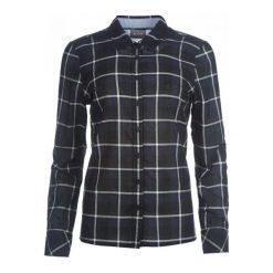 Mustang Koszula Damska 34 Ciemnoniebieska. Czarne koszule damskie Mustang, z bawełny, z długim rękawem. W wyprzedaży za 141.00 zł.