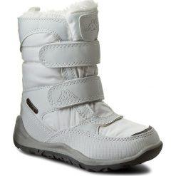 Śniegowce KAPPA - Tundra Tex Kids 260484K White 1010. Śniegowce dziewczęce marki bonprix. W wyprzedaży za 129.00 zł.
