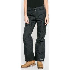 Columbia - Spodnie snowboardowe Bugaboo OH. Brązowe spodnie materiałowe damskie Columbia, z materiału. W wyprzedaży za 399.90 zł.