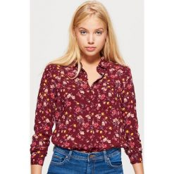 Klasyczna koszula z nadrukiem - Bordowy. Koszule damskie marki SOLOGNAC. W wyprzedaży za 29.99 zł.