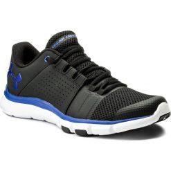 Buty UNDER ARMOUR - Ua Strive 7 1295778-004 Blk. Czarne buty sportowe męskie Under Armour, z gumy. W wyprzedaży za 189.00 zł.