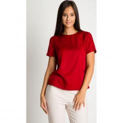 Czerwona pudełkowa bluzka BIALCON. Czerwone bluzki damskie BIALCON. Za 145.00 zł.