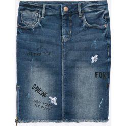 Name it - Spódnica dziecięca 128-164 cm. Spódniczki dla dziewczynek Name it, z haftami, z bawełny. W wyprzedaży za 79.90 zł.