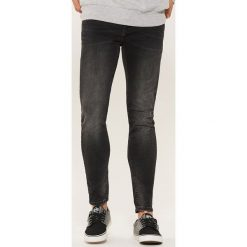Jeansy skinny - Czarny. Czarne jeansy męskie House. Za 99.99 zł.