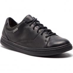 Półbuty CLARKS - Norsen LaceGtx GORE-TEX 261361887 Black Leather. Czarne półbuty na co dzień męskie Clarks, z gore-texu. W wyprzedaży za 409.00 zł.