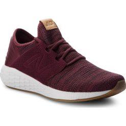 Buty NEW BALANCE - MCRUZKM2  Bordowy. Czerwone buty sportowe męskie New Balance, z materiału. W wyprzedaży za 269.00 zł.