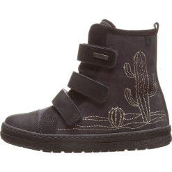 Skórzane botki w kolorze szarym. Botki dziewczęce Zimowe obuwie dla dzieci. W wyprzedaży za 172.95 zł.