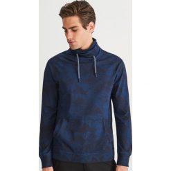 Bluza ze stójką - Granatowy. Bluzy dla chłopców marki Giacomo Conti. W wyprzedaży za 39.99 zł.