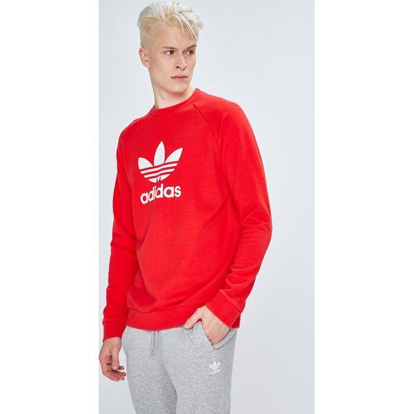 eb5dae5187d78 adidas Originals - Bluza - Szare bluzy męskie marki adidas Originals ...