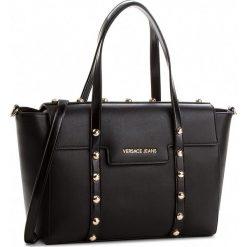 Torebka VERSACE JEANS - E1VSBBC4-70710  899. Czarne torebki do ręki damskie Versace Jeans, z jeansu. Za 819.00 zł.