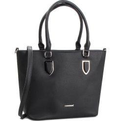 Torebka MONNARI - BAG0750-020 Black. Czarne torebki do ręki damskie Monnari, ze skóry ekologicznej. W wyprzedaży za 199.00 zł.