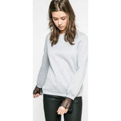 Vero Moda - Bluza. Szare bluzy damskie Vero Moda, z bawełny. W wyprzedaży za 79.90 zł.