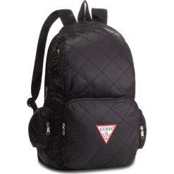 Plecak GUESS - HM6526 NYL84 BLA. Czarne plecaki damskie Guess, z aplikacjami, z materiału, sportowe. Za 279.00 zł.