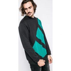 Adidas Originals - Bluza Eqt Block Crew. Szare bluzy męskie adidas Originals, z bawełny. W wyprzedaży za 259.90 zł.