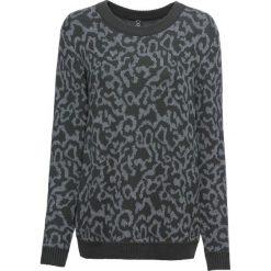 Sweter bonprix antracytowo-szary melanż leo. Szare swetry damskie bonprix. Za 89.99 zł.