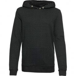 Bluza bawełniana z kapturem, z nadrukiem bonprix czarny z nadrukiem. Bluzy damskie marki KALENJI. Za 59.99 zł.