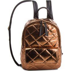 Plecak TWINSET - Zaino OA8TBQ Bronzo Lamin 03115. Brązowe plecaki damskie Twinset, z materiału, sportowe. Za 719.00 zł.