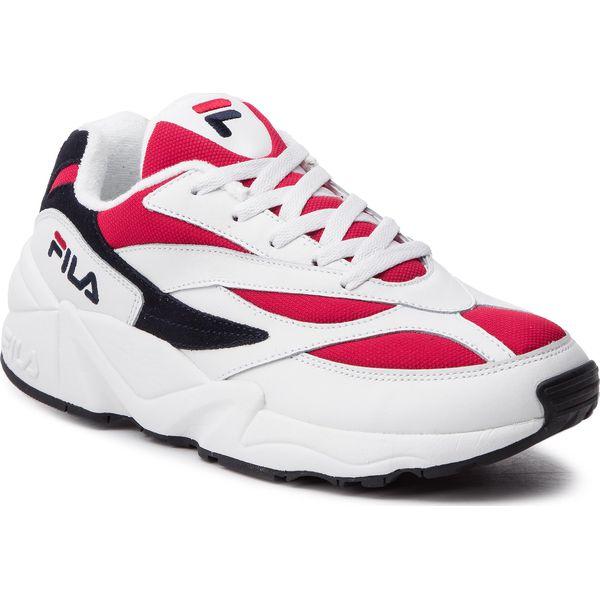 Sneakersy FILA V94M Low 1010255.150 WhiteFila NavyFila Red