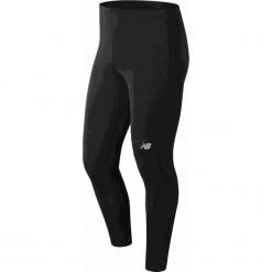 New Balance MP81922BK. Czarne spodnie sportowe męskie New Balance, na jesień, z materiału. W wyprzedaży za 149.99 zł.