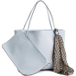 Torebka PUCCINI - BT18530 Niebieski 7. Niebieskie torebki do ręki damskie Puccini, ze skóry ekologicznej. W wyprzedaży za 129.00 zł.