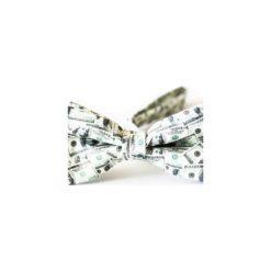 Mucha Milion Dolarów. Białe krawaty i muchy Edyta kleist, w paski, z tkaniny, eleganckie. Za 99.00 zł.