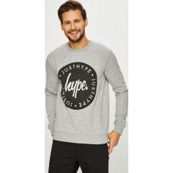 Hype - Bluza. Szare bluzy męskie Hype, z nadrukiem, z bawełny. Za 169.90 zł.