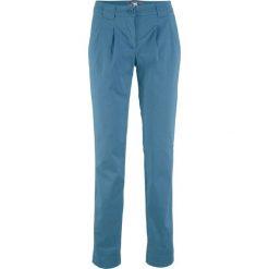 Spodnie chino ze stretchem bonprix niebieski dżins. Jeansy damskie marki bonprix. Za 59.99 zł.
