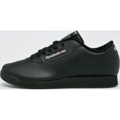 Reebok Classic - Buty Princess. Czarne obuwie sportowe damskie Reebok Classic, z materiału. W wyprzedaży za 239.90 zł.