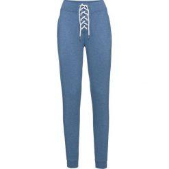 Spodnie dresowe bonprix niebieski dżins. Niebieskie spodnie dresowe damskie bonprix. Za 59.99 zł.