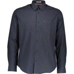 """Koszula """"House"""" - Regular fit - w kolorze zielono-niebieskim. Niebieskie koszule męskie Ben Sherman, w kratkę, z bawełny, button down. W wyprzedaży za 130.95 zł."""
