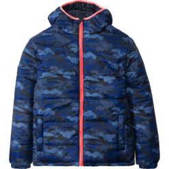Kurtka dwustronna pikowana bonprix ciemnoniebieski moro. Kurtki i płaszcze dla chłopców bonprix, moro. Za 129.99 zł.