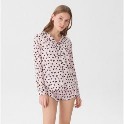 2b807a25296e14 Dwuczęściowa piżama z nadrukiem w serca - Wielobarwn. Piżamy damskie marki  House. Za 89.99