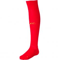 Getry Liverpool LFC Home Kit. Czerwone legginsy sportowe męskie New Balance, z elastanu. W wyprzedaży za 29.99 zł.