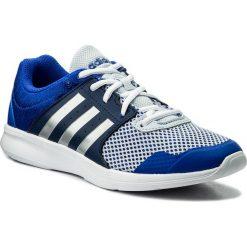 Buty adidas - Essential Fun II W CP8950 Hirblu/Silvmt/Nobind. Niebieskie obuwie sportowe damskie Adidas, z materiału. W wyprzedaży za 159.00 zł.