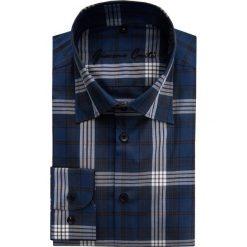 Koszula JUSEPPE 15-05-14-K. Czarne koszule męskie Giacomo Conti, z bawełny, z klasycznym kołnierzykiem, z długim rękawem. Za 229.00 zł.