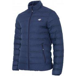 4F Kurtka Męska H4Z17 kum002 Granatowy Melanż L. Niebieskie kurtki sportowe męskie 4f, na zimę, melanż, z puchu. W wyprzedaży za 189.00 zł.