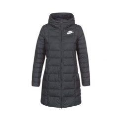 Nike Płaszcz Zimowy W Nsw Dwn Fill Prka Black M. Czarne kurtki sportowe damskie Nike, na zimę. W wyprzedaży za 465.00 zł.
