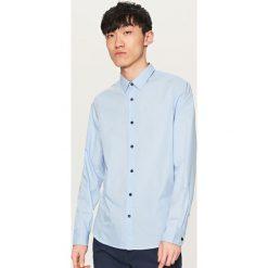 Koszula we wzory - Niebieski. Niebieskie koszule damskie Reserved. Za 79.99 zł.
