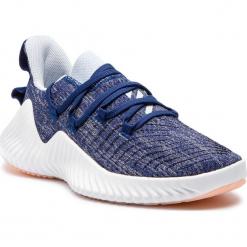 Buty adidas - Alphabounce Trainer W BB7502 Dkblue/Aerblu/Cleora. Niebieskie obuwie sportowe damskie Adidas, z materiału. W wyprzedaży za 279.00 zł.