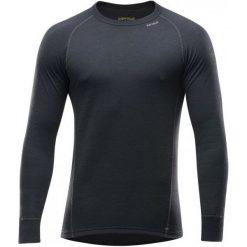 Devold Koszulka Męska Duo Active Czarny Xl. Czarne koszulki sportowe męskie Devold, z wełny, z długim rękawem. Za 265.00 zł.