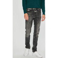 Diesel - Jeansy Deep Zip. Szare jeansy męskie Diesel. W wyprzedaży za 949.90 zł.