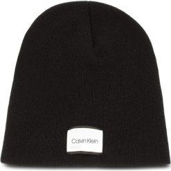 Czapka CALVIN KLEIN - Classic Beanie M K50K504118 001. Czarne czapki i kapelusze męskie Calvin Klein. Za 179.00 zł.