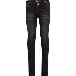 """Dżinsy """"Allegra"""" - Skinny fit - w kolorze czarnym. Jeansy dla dziewczynek marki bonprix. W wyprzedaży za 99.95 zł."""